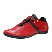 Tenis Puma Future Cat Remix Ferrari Lo Rojo Negro Adulto Hm4