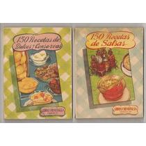 Colección 8 Recetarios De Cocina La Familia De 1944 Flr