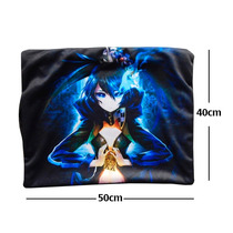 Almohada Black Rock Shooter Tarot Arcana De Super Calidad