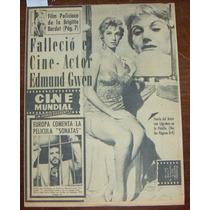 Revista Cinemundial,ana Luisa Peluffo En Portada