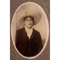 Antigua Foto Charro Mexicano Del 2 De Septiembre 1925 - Hm4