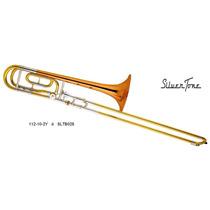 Silvertone Trombon De Varas Bb ( Si B )