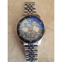 Reloj Timex Cronografo Pato Donald En Auto Coleccionable Sss
