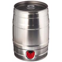 Barril Para Cerveza Aluminio Capacidad 5 Lt Mini Keg
