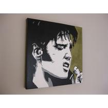 Elvis Presley Pintura Cuadro Oleo Pop Art