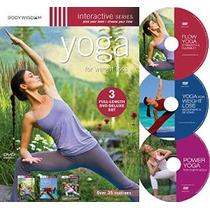 Yoga Para Bajar De Peso (deluxe Conjunto 3 Dvd Con Más De 30