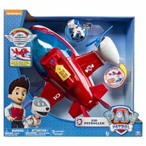 Paw Patrol Avion Air Patroller Plane Luces Y Sonido