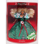 Baggy's Barbie Holiday 1995 Navidena Rubia Checala