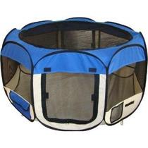 Corral Para Mascota Perros Jaula Corra Azul Jaula Viaje Op4