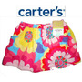Carter's Bella Falda Short Nina Talla 18 Meses Colores