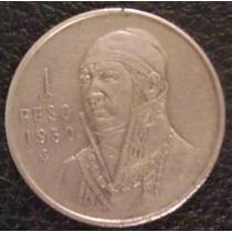 1 Peso 1950 Plata México General Jose Maria Morelos - Hm4