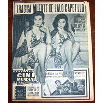 Revista Cinemundial,christiane Martel En Portada,liz Taylor