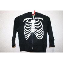 Disfraz Sudadera Calaca Esqueleto Niño Bebe Halloween Nuevo