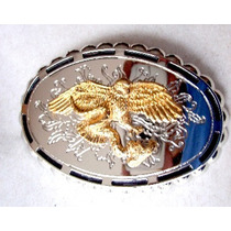 Hebilla Cinturon Aguila Charro Mariachi Mexico Flr