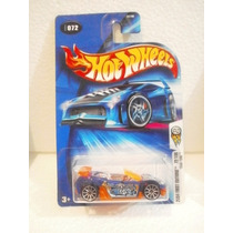 Hot Wheels 2004 First Editions Trak Tune Azul #72 2004