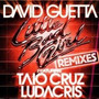 Cd  Maxi Single De David Guetta:little Bad Girl  Remixes