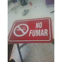 Letrero De No Fumar Para Oficinas ,negocios Etc