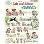 Libro Para Bordar En Punto De Cruz Abc De Gatos