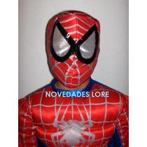 Disfraz Spiderman Hombre Araña Venom Niño Capitan America