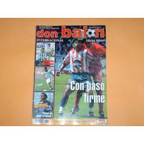 Revista Cuauhtemoc Blanco Valladolid 2001 Don Balon