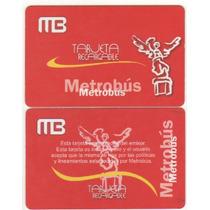 Tarjeta Del Metrobús De México D.f. La Roja