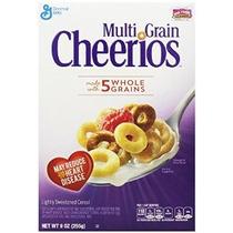 Cereales Cheerios Multi Grain Cajas 9 Onzas (paquete De 4)