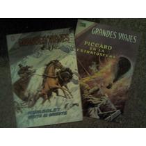 Comics De Grandes Viajes Edit.novaro Años 70´s