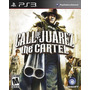 Call Of Juarez The Cartel Para Ps3 Nuevo Y Sellado Pm0 Op4