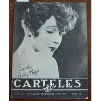 Revista, Carteles, Sally Phipps En Portada