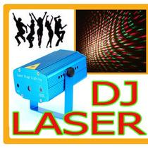 Doble Laser Dj Rojo Verde Audioritmico Estrobo Hm4 Fiesta