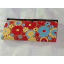 Cartera De Mano Tipo Monedero Carpeta En Subasta $1.00