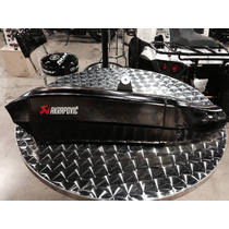 Moffle Kawasaki H2 100% Fibra De Carbono Akrapovic