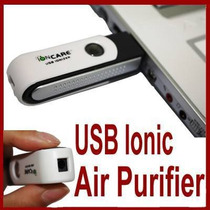 Purificador Ionizador De Aire. Para Tu Laptop Pc.