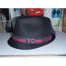 Justin Bieber Sombrero Cinta Bordada I Love Justin Bieber