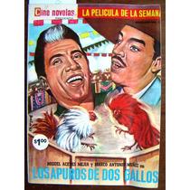 Revista Cine Novelas, Los Apuros De Dos Gallos N°17