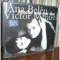 Victor Manuel Ana Belen 2 Cd Album Mucho Mas Que Dos