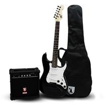Kit Guitarra Electrica Con Amplificador 250w Musica