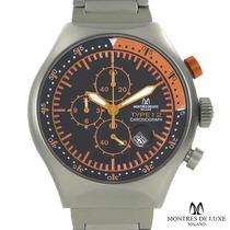 Reloj Montres De Luxe Milano Hombre, Aluminio Cronografo Sp0