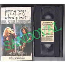 Concierto Vhs Jimmy Page Y Robert Plant, No Quarter Unledded