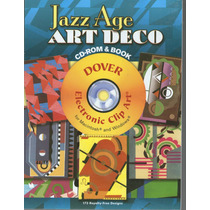 Jazz Age - Art Deco- Electronic Clip Art