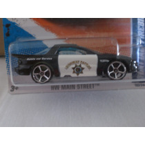 Hot Wheels Patrullas Pontiac Firebird Policia