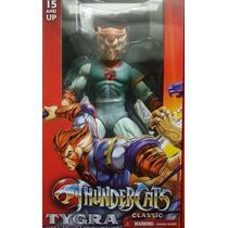 De Mezco 14 Thundercats Tygro (tygra) Con Bolo De Pelea
