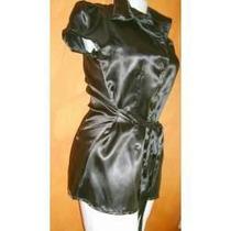Blusa Bluson Minivestido Satinado Moda Actual