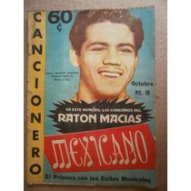 Raul Raton Macias Campeon Mundial Cancionero Mexicano 54 Flr