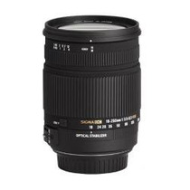 Lente Sigma 18-250mm F/3.5-6.3 Dc Os Hsm If Auto Focus Mn4