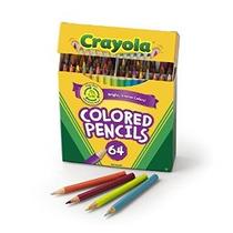 Crayola 64 Lápices Ct Corto Colores Kids Choice Colores