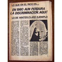 Revista Conecte, Johnny Winter, En Portada
