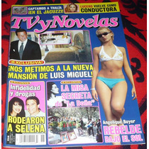 Angelique Boyer Tv Y Novelas Super Click Abril De 2005