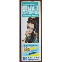 Revista Mi Mini Cancionero,lucia Méndez,pedro Infante,