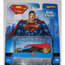 Hero Cycles Batman Superman Justice Leag Hot Wheels 1/64 Vv4